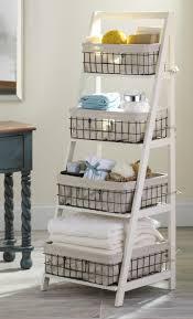 Bathroom Ladder Shelves Flagrant Wooden Ladder Shelf Furniture Shelves Next Rustic