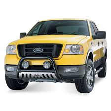 Yellow Ford Ranger Truck - amazon com westin 32 1395 bull bar black automotive