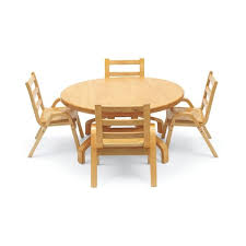 real wood table chair set koala baby care