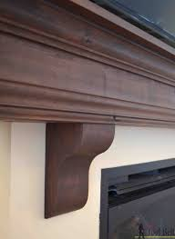 living room traditional rustic maple diy mantel shelf with