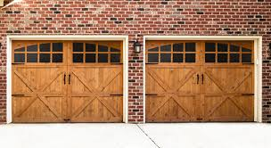 wooden garage doors built beautiful wood doors