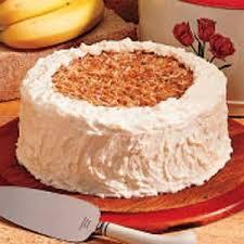 banana coconut cake recipe taste of home