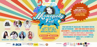 Monopoly Map Monopoly Fest The Weekend Market Jakarta Little Steps