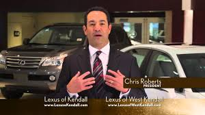lexus kendall service lexus of kendall tv youtube
