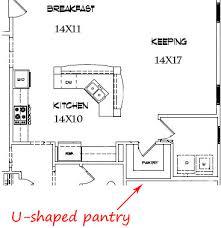kitchen floorplans best kitchen floor plans kitchens with a costco pantry