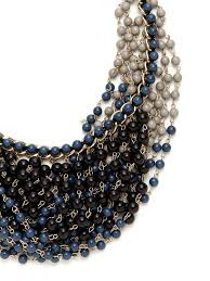 cara couture cära couture jewelry cara couture jewelry blue multi overlapping