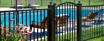 residential ornamental aluminum fence sjb fence company in