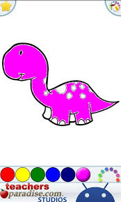 dinosaurs coloring book android apps google play
