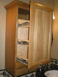 a pull out medicine cabinet