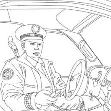 police officer car coloring page archives mente beta most