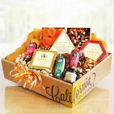 meat and cheese gift baskets signature gourmet meat and cheese gift box california delicious