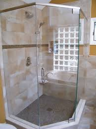 semi frameless shower glass semi frameless corner shower doors