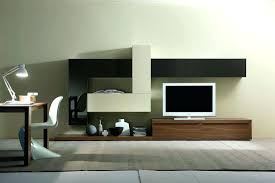 Modern Wall Units Entertainment Centers Minimalist Office Table Modern Wall Unit Tv Media Entertainment