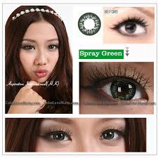 eos spray green colored contacts pair 210g 14 99 colored