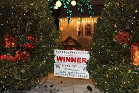 video christmas lighting contest winners notified by surprise