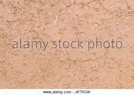 full frame close up of a adobe mud wall in new mexico the texture