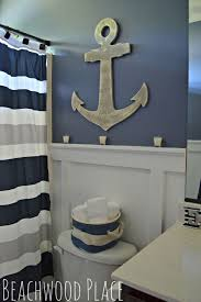 Boys Bathroom Decorating Ideas Things To About The Nautical Bathroom Decor Pickndecor