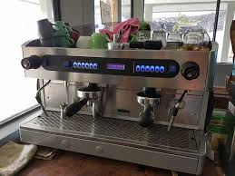 That is a proper coffee machine and the coffee is delicious
