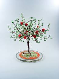 212 best beaded trees images on wire trees bonsai