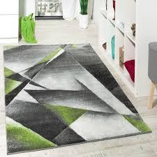 Wohnzimmerm El Natur Wohnzimmer Teppich Modern Grau Grün Mit Konturenschnitt Malmo