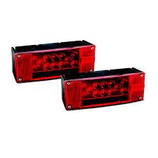 12v led trailer light kit red china longteng tool