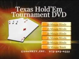 Blinds Timer Texas Hold U0027 Em Tournament Dvd