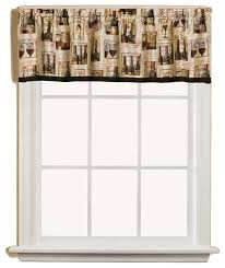 Kitchen Curtain Valance by Vino Wine Bottles Kitchen Curtain Traditional Curtains By
