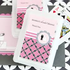 personalized cards wedding shower favors bridal shower