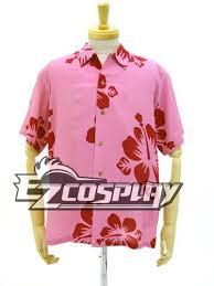 Meme Oshino Cosplay - bakemonogatari oshino meme design aloha pink cosplay costume e001 on