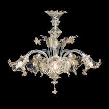 Bear Chandelier Atena Murano Glass Chandelier Made In Venice