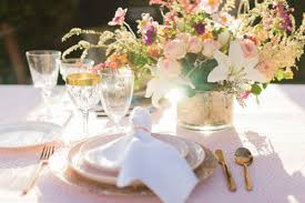 rose gold candy table blog table candy event rentals