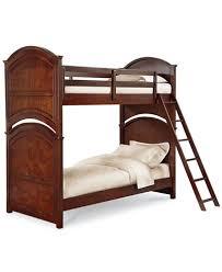 Irvine Twin Over Twin Kids Bunk Bed Furniture Macys - Furniture bunk beds