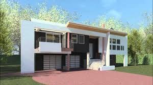 modern high ranch house clifford o reid architect youtube