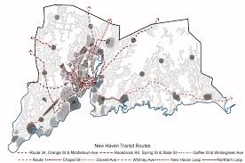 Scsu Map Greater New Haven Intra Regional Transit System Urb An Ism O