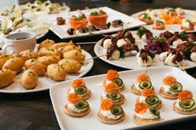 food canapes finger foods and canapés by mimosa catering events