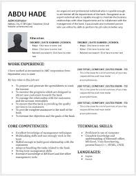 Admin Resume Template Bank Administration Resume Contents Layouts U0026 Templates Resume