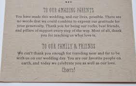 Thank Yous On Wedding Programs Vineyard Wedding Suite Isn U0027t That Charming