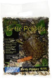 amazon com exo terra turtle pebbles small pet habitat decor