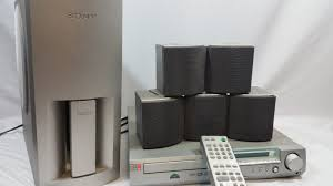 sony home theater surround sound system sony dav s300 5 1 channel cd dvd home theater mini system surround