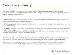 research project progress report template executive summary project status report template 2