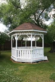 white gazebo 32 wooden gazebos that provide rich design and comfortable spaces