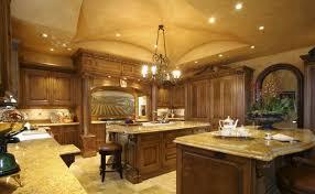 Traditional Italian Kitchen Design by Kitchen Antique Brown Finish Varnished Wooden Kitchen Island White