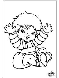 bébé 25 personnages u2013 coloriages à imprimer