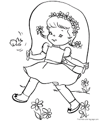 heart jumping coloring pages coloring