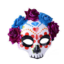 Day Of The Dead Masks Day Of The Dead Mask Decoration