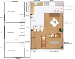 100 ranch floor plans with large kitchen house plan w3235