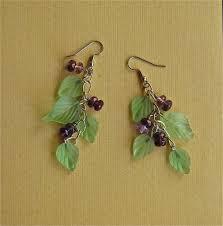 earring dangles handmade earring dangles of and glass by mehtahdesigns