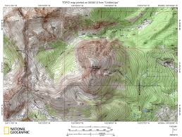 Colorado Mountain Map by Protrails Buffalo Mountain Trail Map Buffalo Mountain Lily