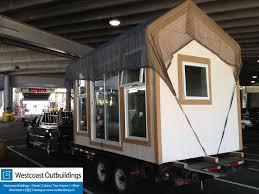 prefab bowen island art studio modular delivery