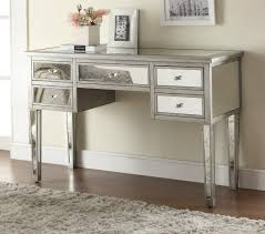 how to decorate an accent table furniture painted silver color small mirrored accent table with